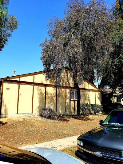 Clovis, Fresno, Sanger Multi Family Home For Sale: 3477 N Marks Avenue