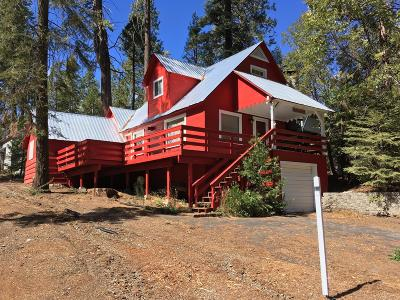 Shaver Lake Single Family Home For Sale: 42186 Digger Lane