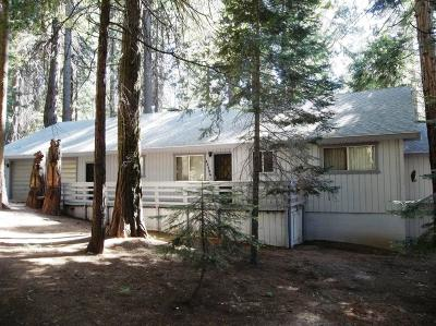 Shaver Lake Single Family Home For Sale: 42396 Rock Ledge Road