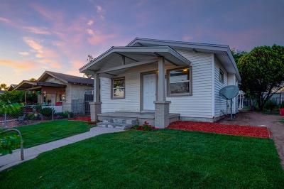 Fresno Single Family Home For Sale: 3437 E Butler Avenue
