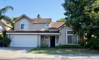 Clovis Single Family Home For Sale: 248 W Athens Avenue