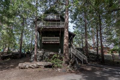 Shaver Lake Single Family Home For Sale: 41405 Musick Drive