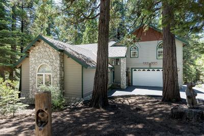 Shaver Lake Single Family Home For Sale: 41643 Granite Ridge Road