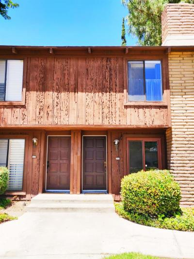 Fresno CA Condo/Townhouse For Sale: $135,000