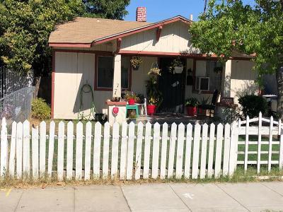 Single Family Home For Sale: 1508 N Calaveras Street
