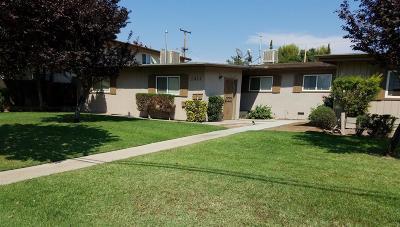 Clovis Multi Family Home For Sale: 1411 Minnewawa Avenue