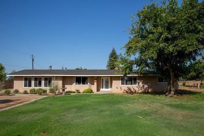 Sanger Single Family Home For Sale: 3377 N Bethel Avenue