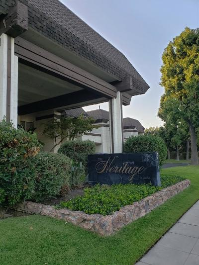 Fresno Condo/Townhouse For Sale: 4919 N Millbrook Avenue #110