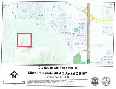 Los Angeles County Residential Lots & Land For Sale: Vic 15 Stw Avenue # R
