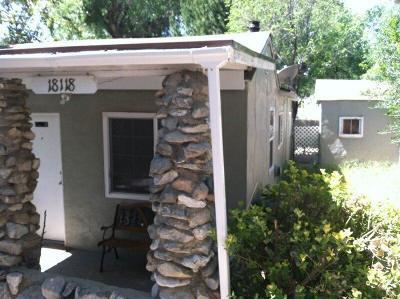 Lake Hughes Multi Family Home For Sale: 18118 Elizabeth Lake Road