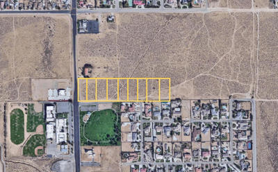 Lancaster Residential Lots & Land For Sale: 30th Street W. & Avenue L12