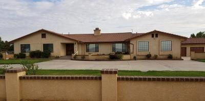 Rosamond Single Family Home For Sale