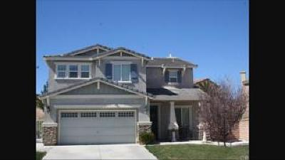Palmdale Single Family Home For Sale: 37325 Hazelnut Place