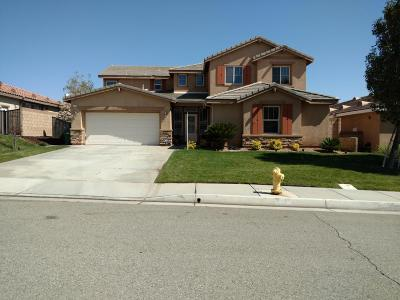 Palmdale CA Single Family Home For Sale: $499,999
