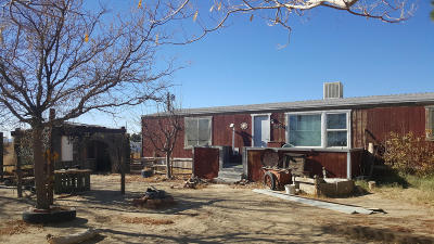 Mojave CA Single Family Home For Sale: $82,000