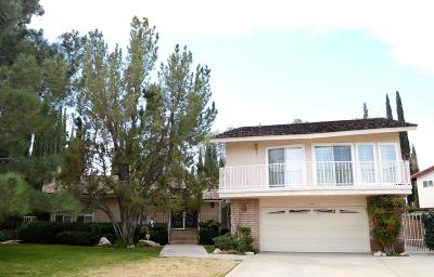 Palmdale Single Family Home For Sale: 454 Fairway Drive