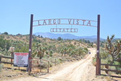 Los Angeles County Residential Lots & Land For Sale: Largo Vista Estates Road