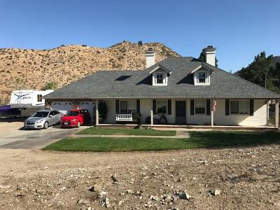 Pinon Hills CA Single Family Home For Sale: $350,000