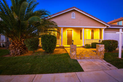 Palmdale Single Family Home For Sale: 3601 Tournament