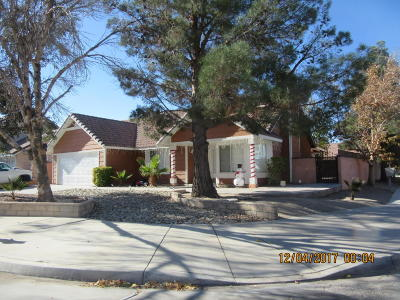 Palmdale Single Family Home For Sale: 37545 Cedrela