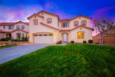 Palmdale Single Family Home For Sale: 37115 Kingcup