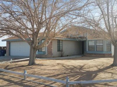 California City Single Family Home For Sale: 21690 Everett Drive