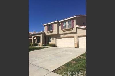 Palmdale Single Family Home For Sale: 3607 Desert Oak Drive