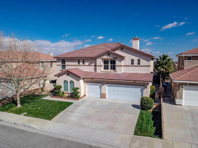 Palmdale Single Family Home For Sale: 39906 Capland Drive
