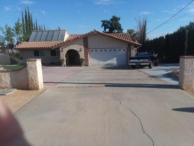 Pearblossom Single Family Home For Sale: 13235 E Ave W 11
