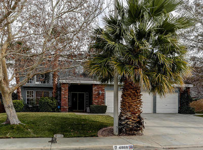 Palmdale Single Family Home For Sale: 41868 Tilton Drive
