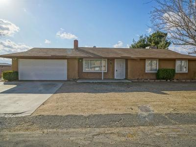 Lake Los Angeles Single Family Home For Sale: 40613 Fieldspring Street