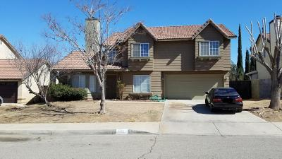 Lancaster, Palmdale, Quartz Hill Single Family Home For Sale: 37518 Middlebury Street