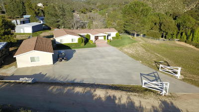 Santa Clarita Single Family Home For Sale: 38591 San Francisquito Canyon Road