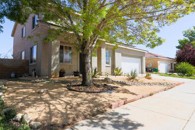 Palmdale Single Family Home For Sale: 3509 Racquet Lane