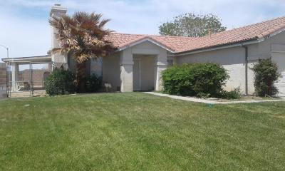 Rosamond Single Family Home For Sale: 3061 Woodley Court