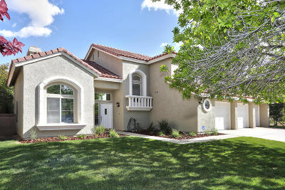 Palmdale Single Family Home For Sale: 39962 Golfers Drive