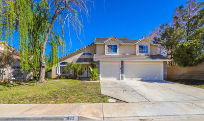 Palmdale Single Family Home For Sale: 3143 Racquet Lane