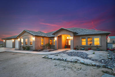 California City Single Family Home For Sale: 16363 Rudnick Boulevard