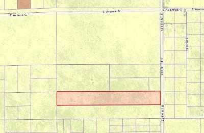 Residential Lots & Land For Sale: Vac/120th Ste/Vic Avenue G6