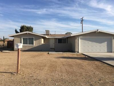 California City Single Family Home For Sale: 9310 Xavier Avenue
