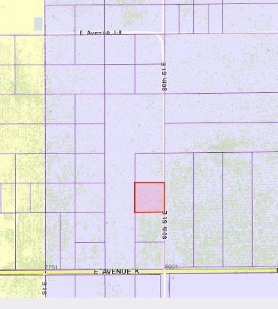 Residential Lots & Land For Sale: 3384-012-003 J-13 And 80th St.