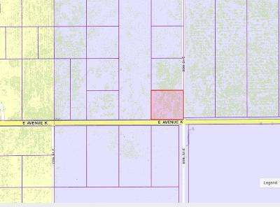 Residential Lots & Land For Sale: 3384-012-001 Cor Ave K 80th