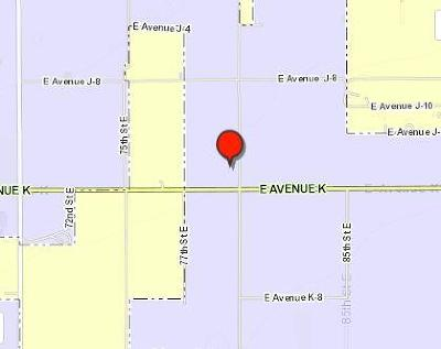 Residential Lots & Land For Sale: 3384-012-002 Ave J14 & 80th E.