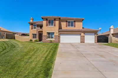 Lancaster, Palmdale Single Family Home For Sale: 41619 Firenze Street