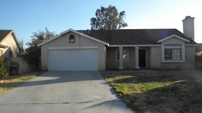 Rosamond Single Family Home For Sale: 3112 Echo Drive