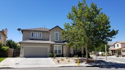 Palmdale CA Single Family Home For Sale: $510,000