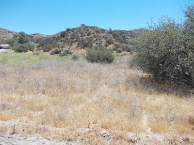 Santa Clarita Residential Lots & Land For Sale: Baker Canyon Rd
