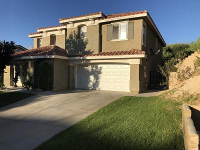 Palmdale CA Single Family Home For Sale: $399,950