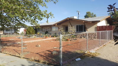 Rosamond Single Family Home For Sale: 2020 Orange Street