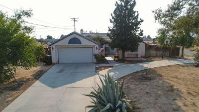 California City Single Family Home For Sale: 8348 Viburnum Avenue